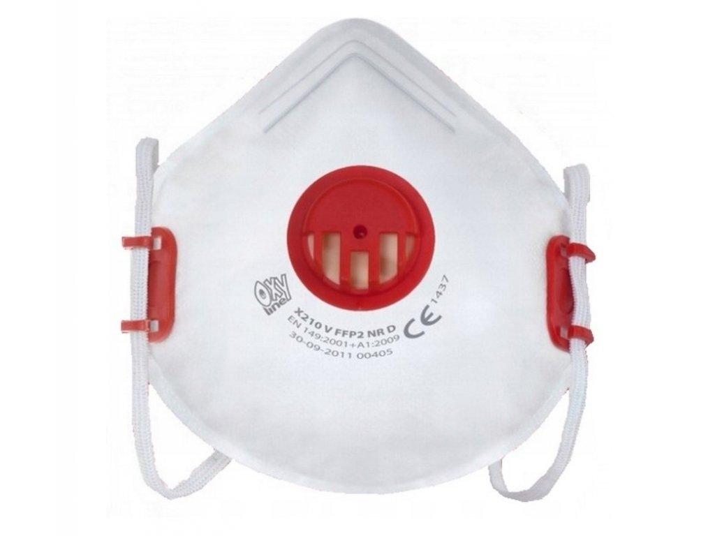 Ochranná maska - respirátor FFP2 1 ks