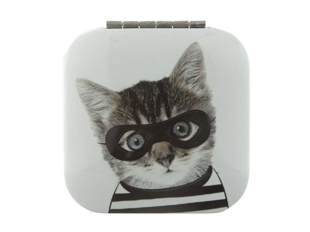 Zrcátko do kabelky Kočičí zloděj