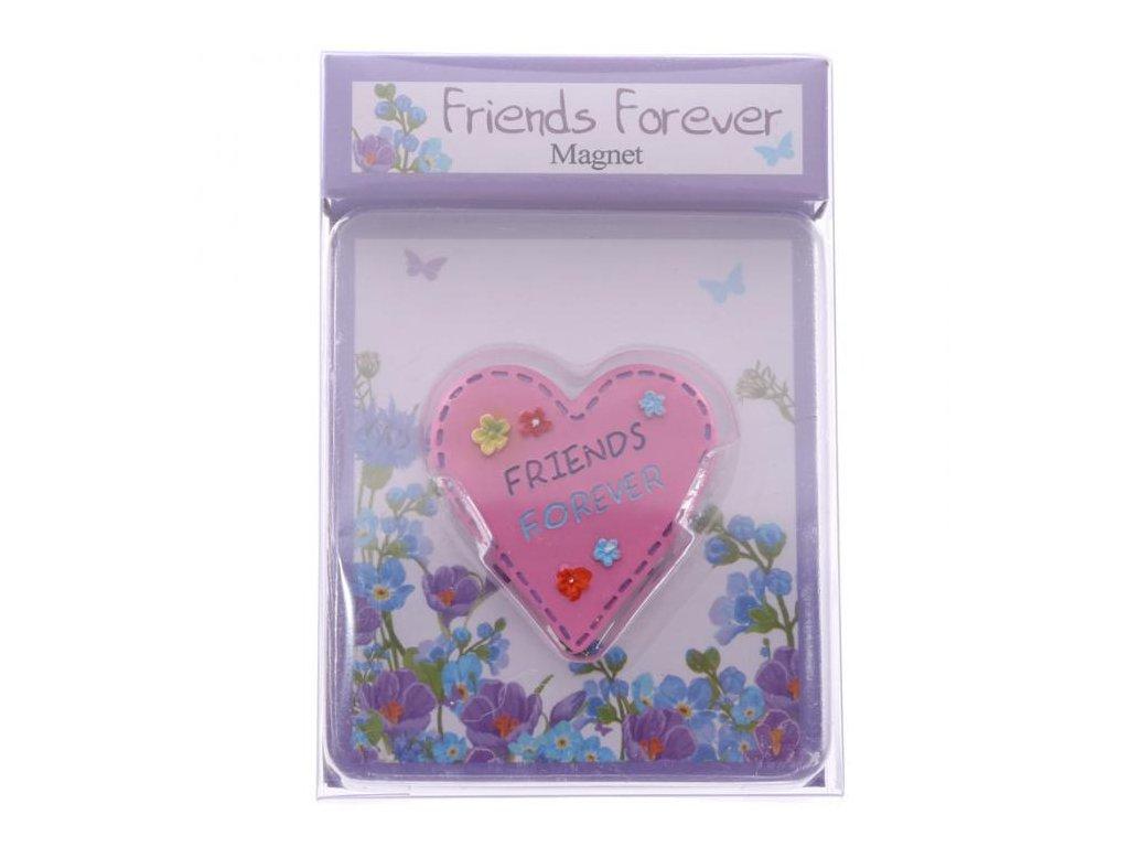 Magnet srdce Friends Forever