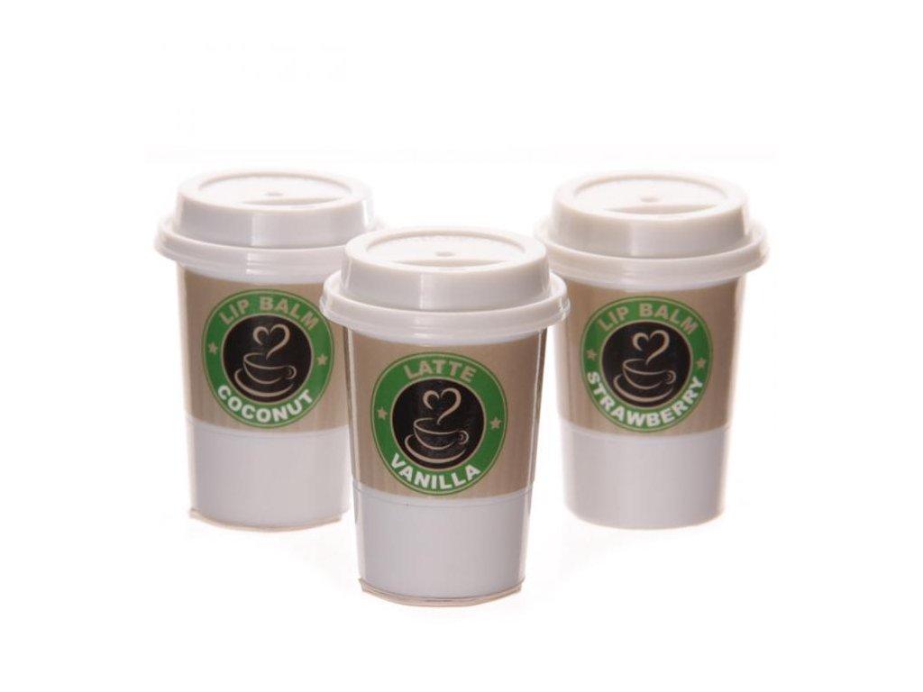 Lesk na rty Káva, 3 druhy