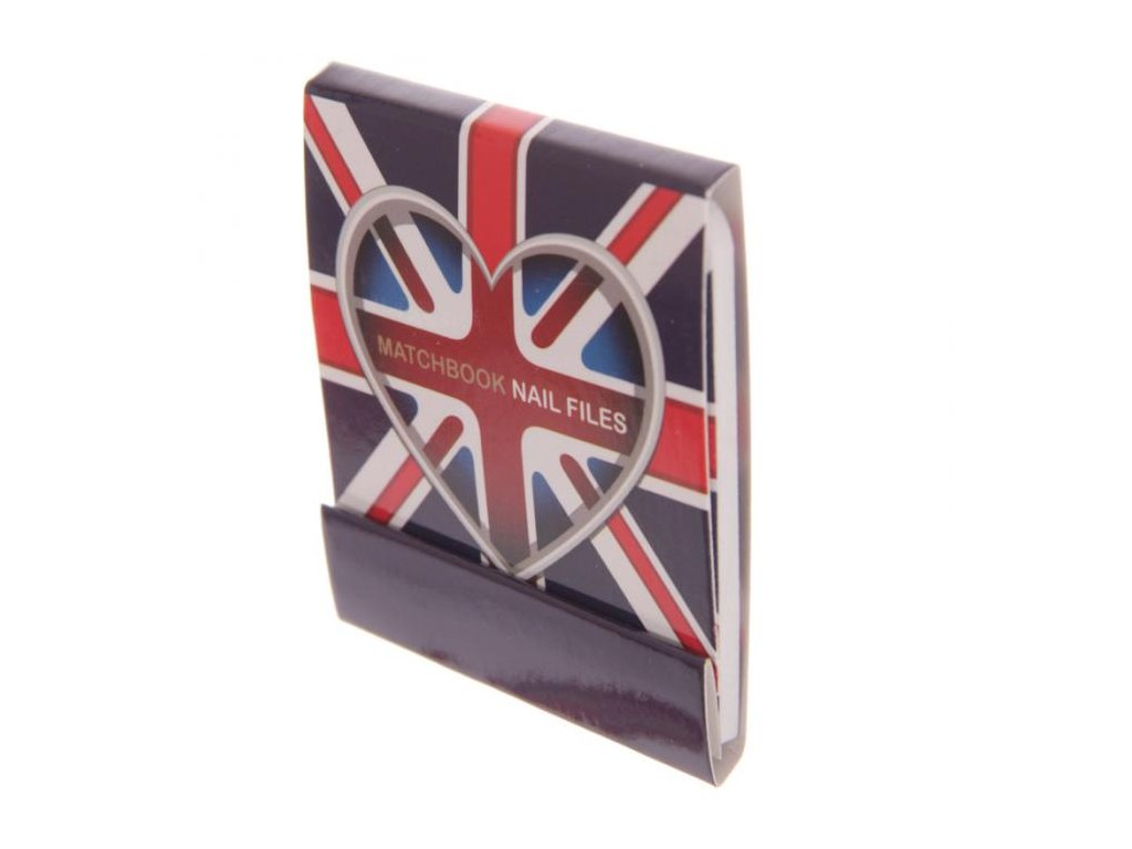 Mini pilníčky Love England 5 cm