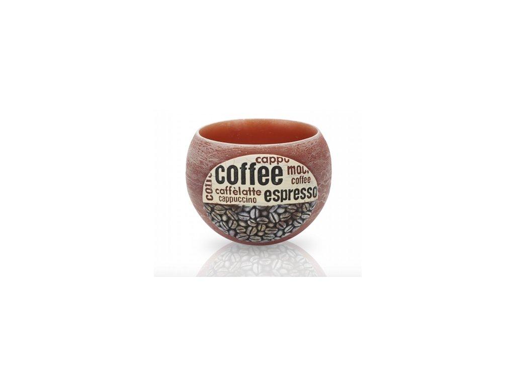 Vonný lampion Coffee na čajovou svíčku, 2 barvy