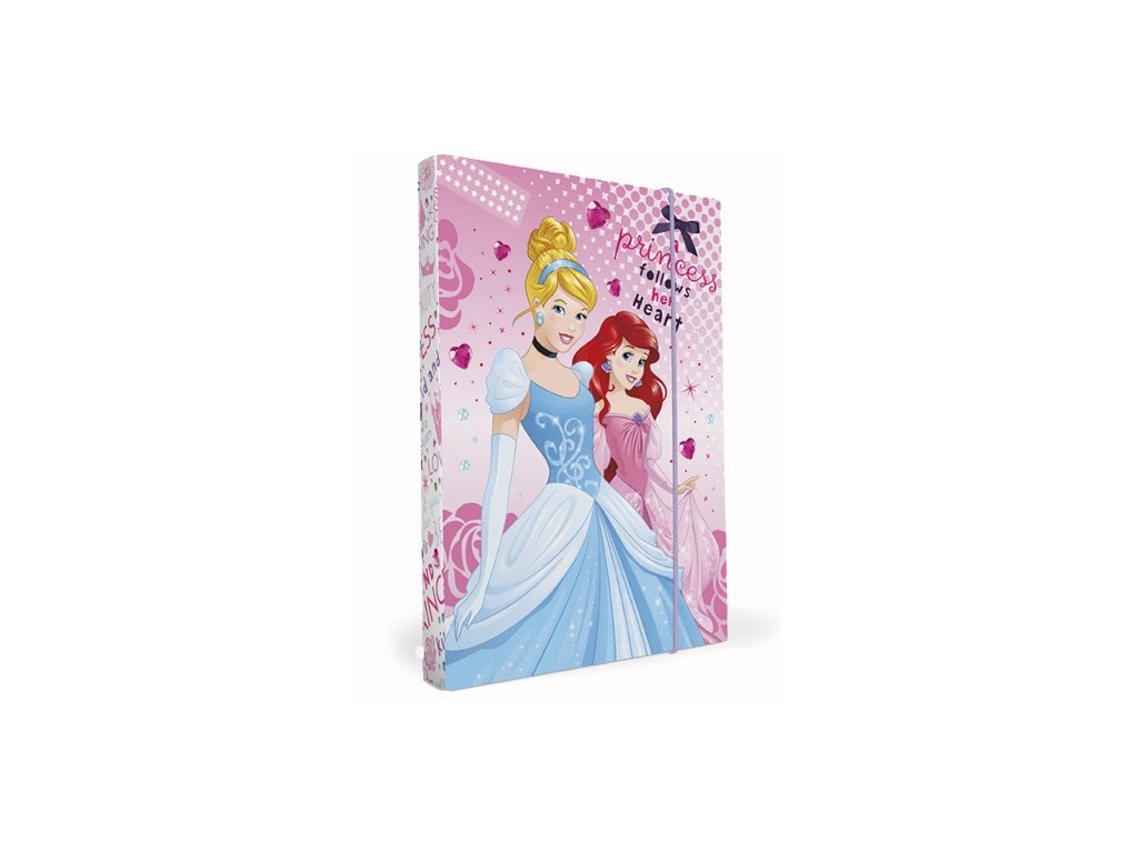 Karton P+P Desky na sešity Heftbox A5 Princess