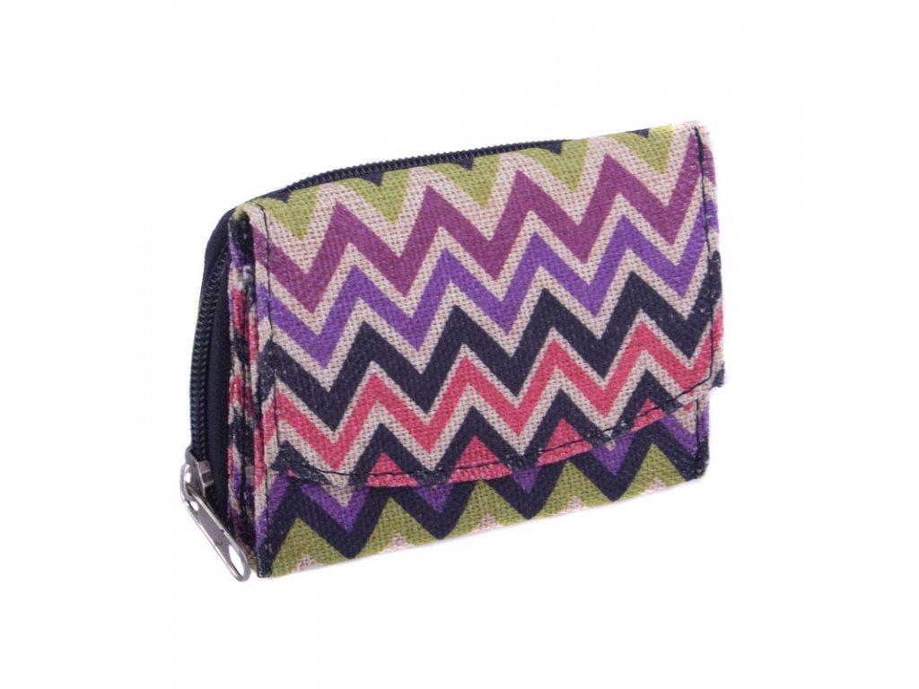 Mini barevná peněženka typ2