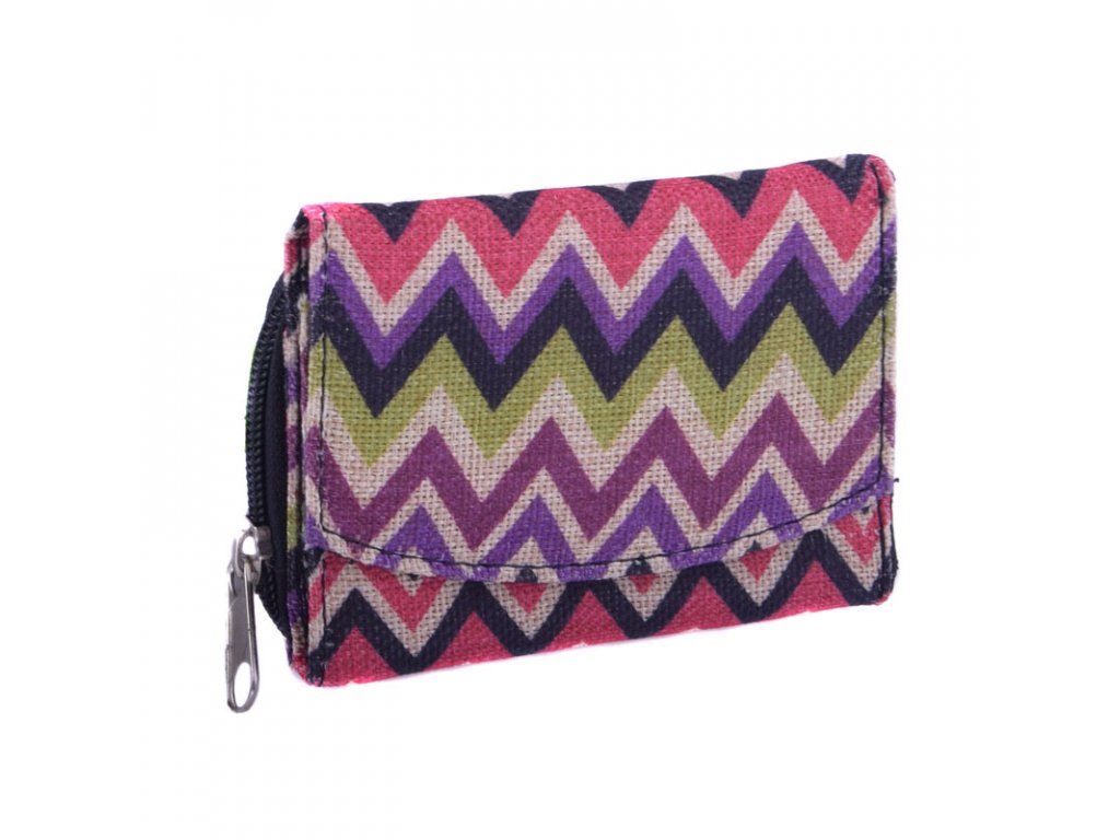 Mini barevná peněženka typ6
