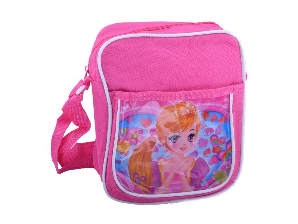 Dětská kabelka s lesklým obrázkem