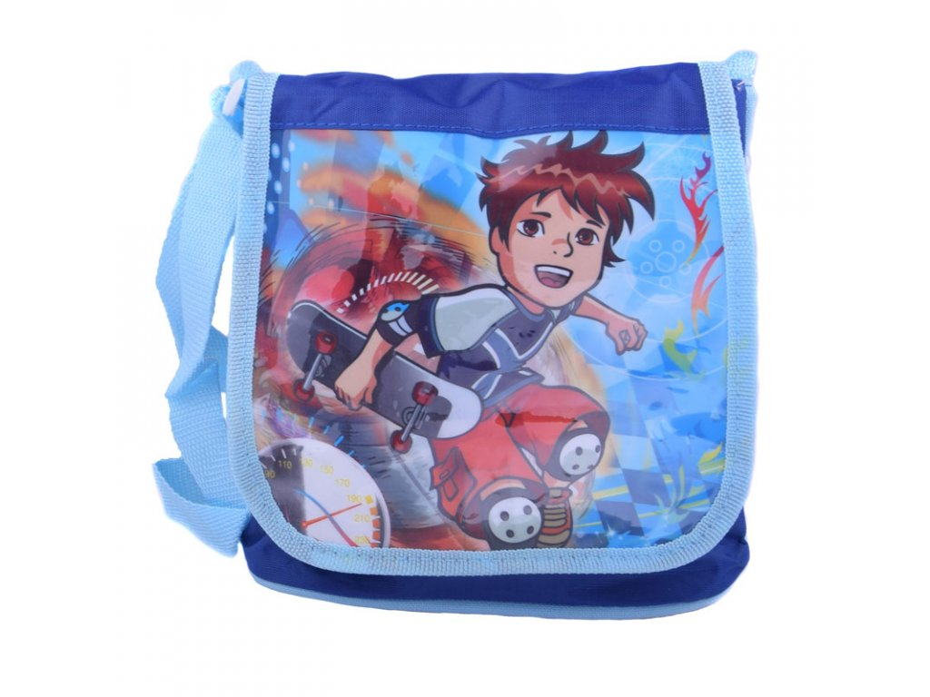Chlapecká kabelka s lesklým obrázkem