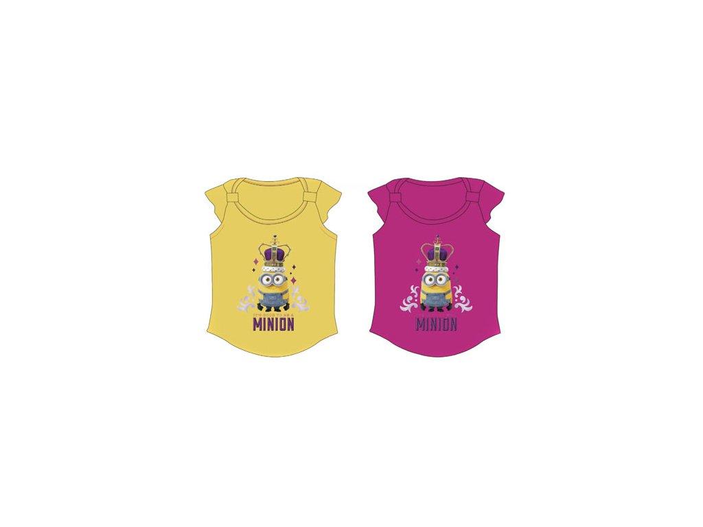 Dívčí tričko Mimoni - Princezna