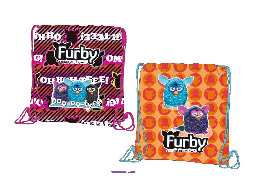 Hasbro Taška na přezůvky Furby 28x25 cm