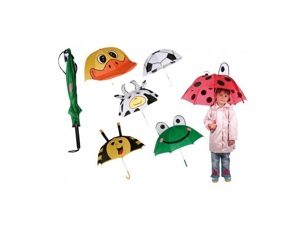 Dětský deštník Zvířátka