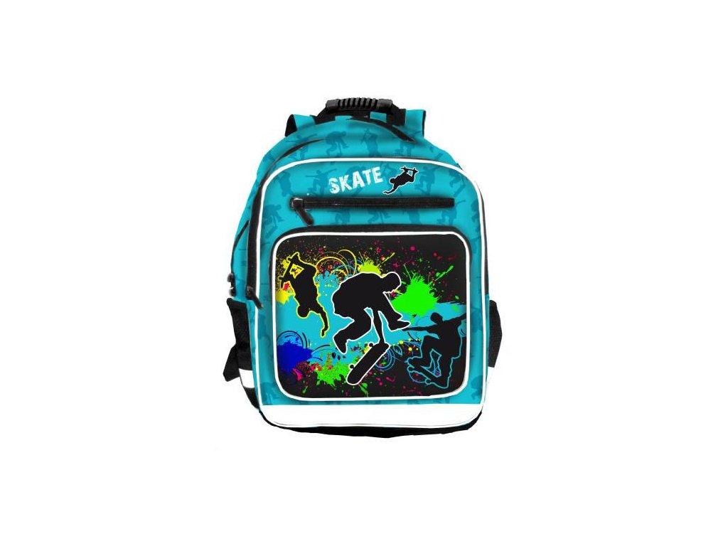 Školní batoh 3-komorový Skate