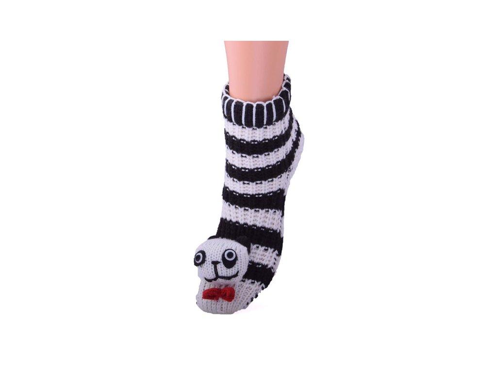 Dětské pletené ponožky Panda
