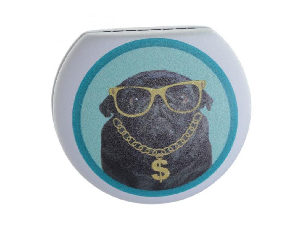 Pouzdro na kontaktní čočky - Bohatý Mopsík