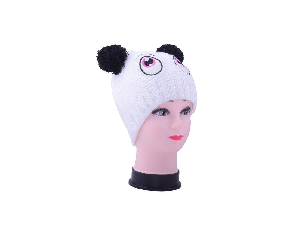 Dětská zimní čepice s oušky