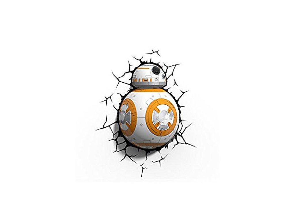 3D nástěnné světlo EP7 - STAR WARS BB-8