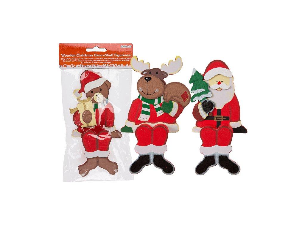 Dřevěná vánoční figurka
