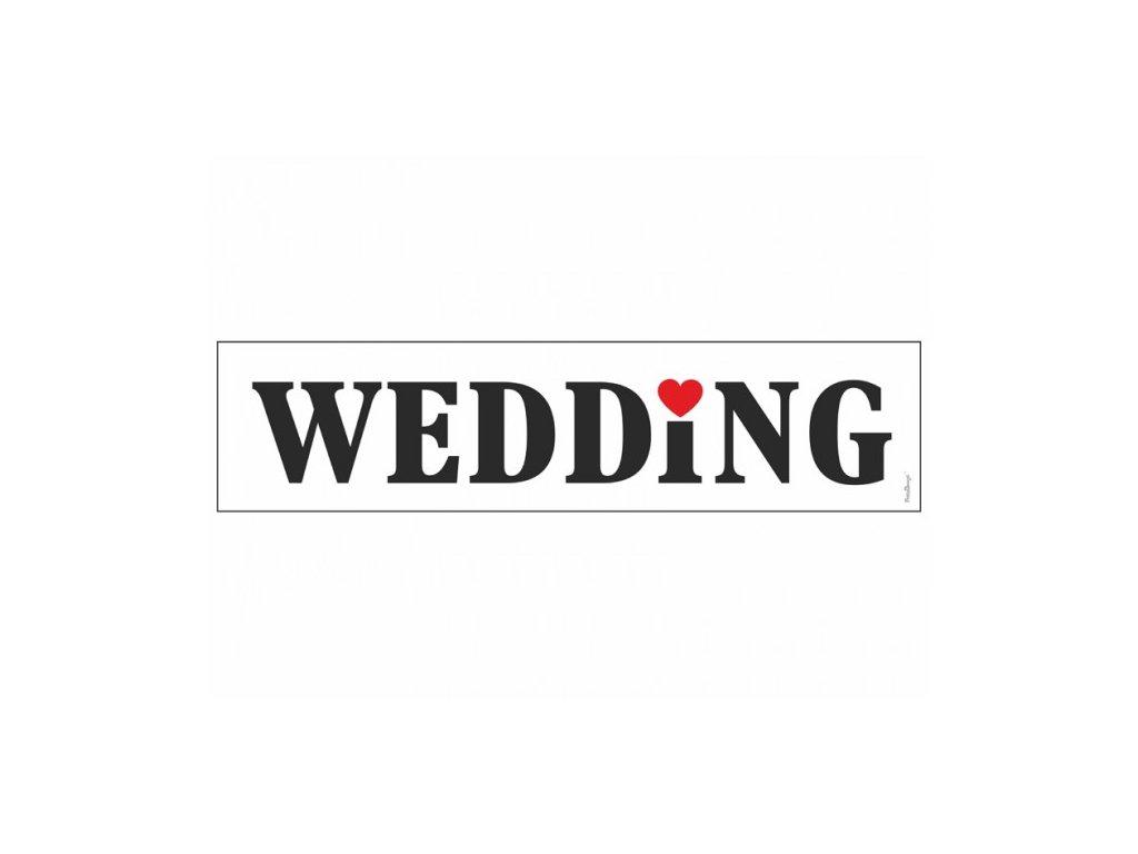 Svatební SPZ Wedding