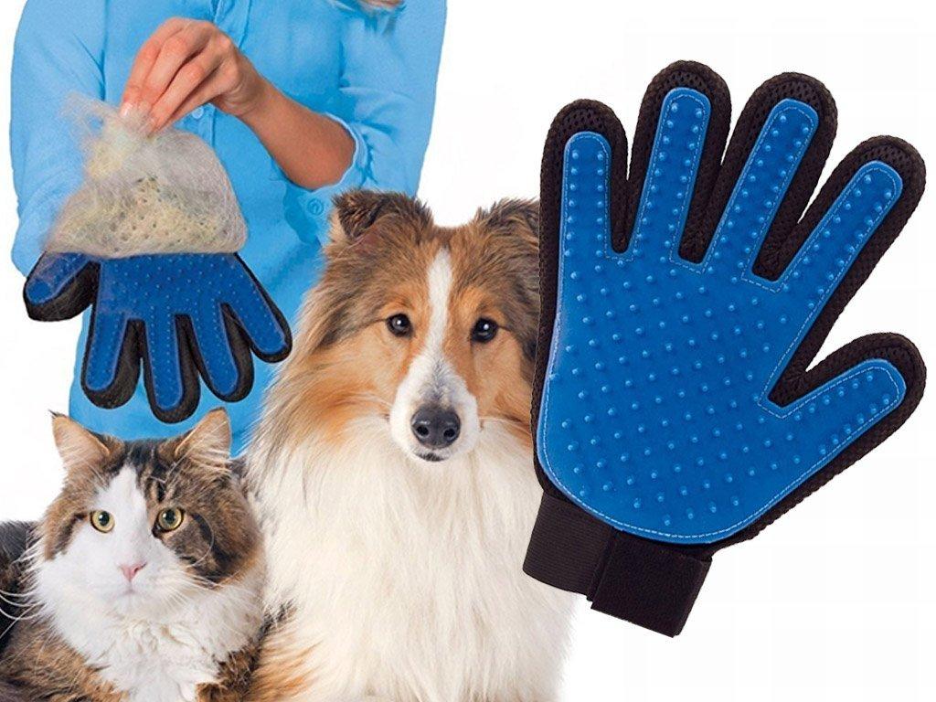 Vyčesávací rukavice pro psy a kočky