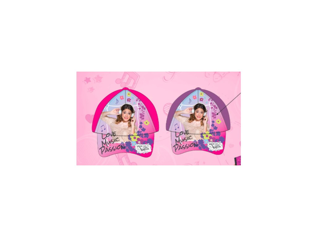 Dívčí kšiltovka Disney Violetta