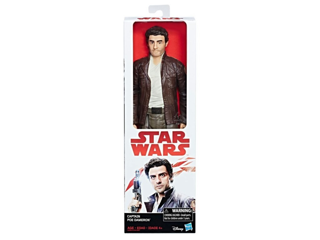 Star Wars episoda 8 hrdiny 30 cm Captain Poe Dameron