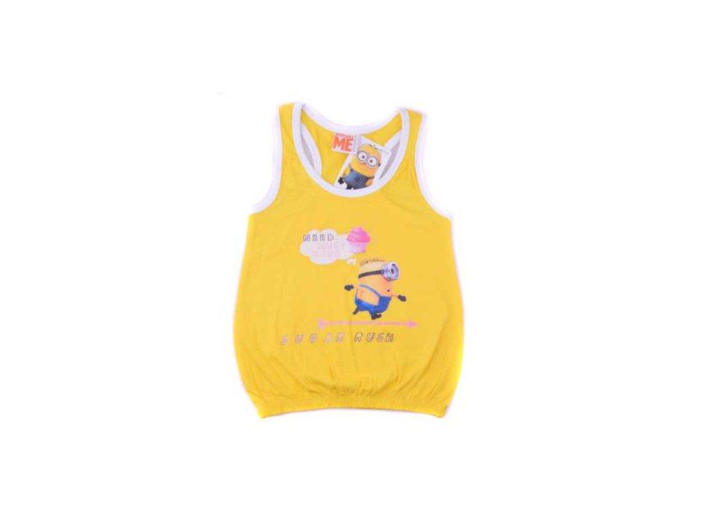 Dětské tílko Mimoni - žlutá