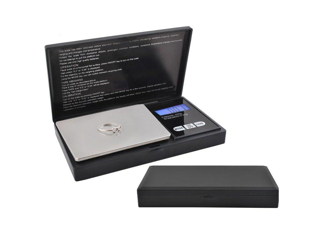 Kapesní digitální váha Professional 200/0,01g