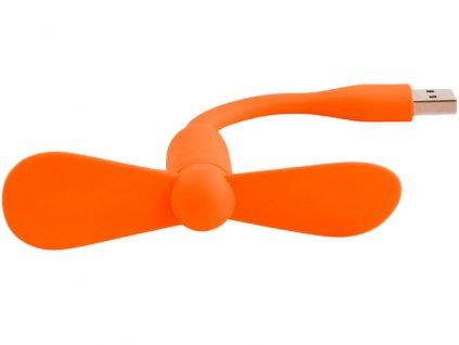 USB větráček oranžový