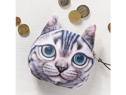 3D peněženka kočka II