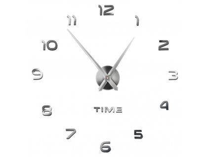 Designové 3D nalepovací hodiny 130cm