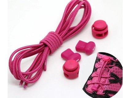 Easy tkaničky - růžové