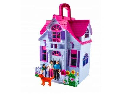 Skládací domeček pro panenky