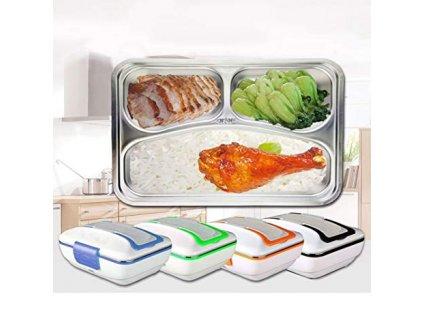Elektrická krabička na jídlo 2v1