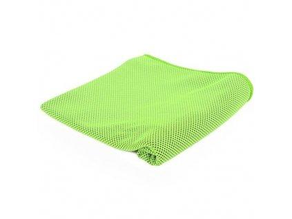 Chladící fitness ručník - zelený