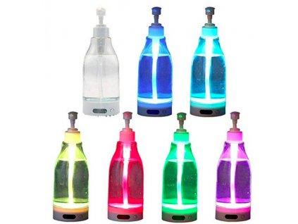 LED svítící nádoba na mýdlo
