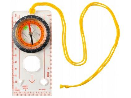 Kompas mapový s lupou