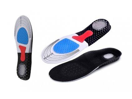 Ortopedické vložky do bot s podporou klenby - Dámské