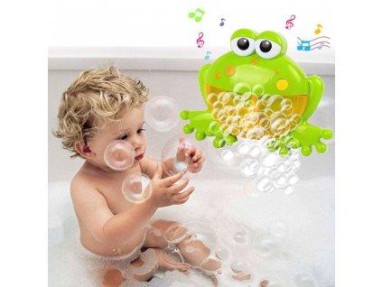 Žába na výrobu pěny do koupelny