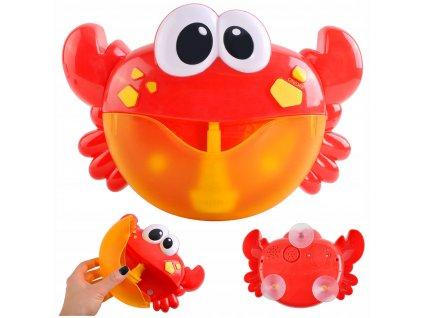 Bublinkovač do vany Krab