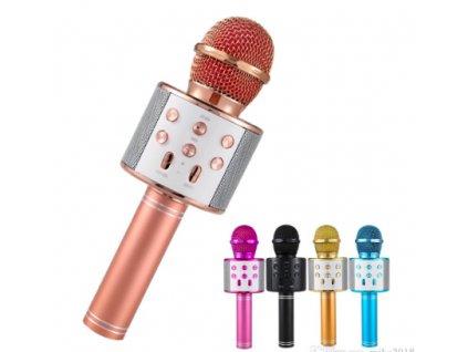 Karaoke mikrofon - zlatá