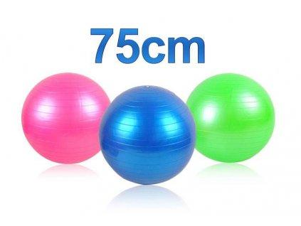 Gymnastický míč 75 cm + hustilka