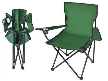 Malatec 8003 Křeslo skládací Relax zelené