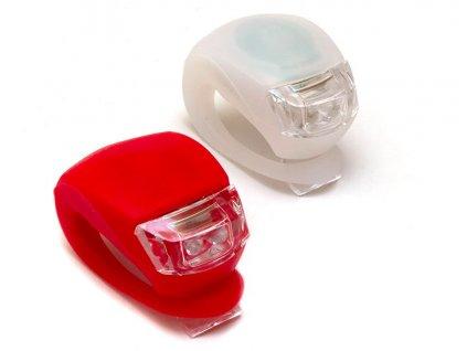 Bezpečnostní LED světlo na kolo 2ks