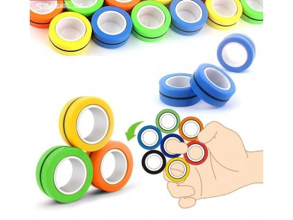 Antistresové magnetické kroužky