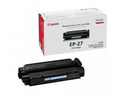Originální toner Canon EP-27, černý, 2500 stran