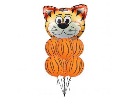 Veselé balónky - Tygr