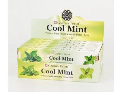 Vonné tyčinky Garden Fresh - Cool mint
