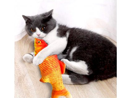 Hračka pro kočky - ryba