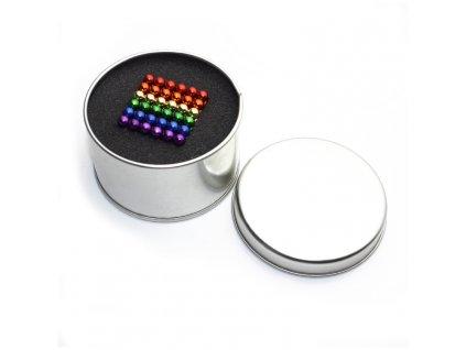 Magnetické kuličky 6 barev 5mm 216 ks