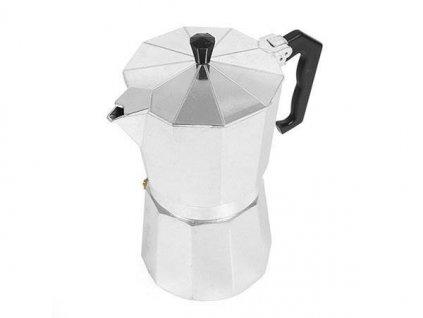 Verk 07038 Moka konvice 6 - 300 ml - stříbrná