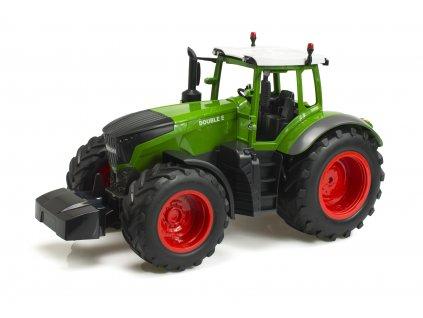 RC Traktor 2,4GHz, 30m, 300mAh, 40 cm, zelená 1:16